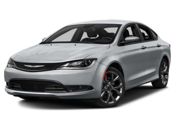 chrysler 200 on white background